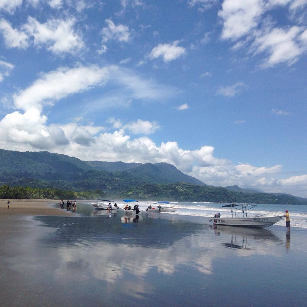 Uvita beach No filter What a day costarica uvita