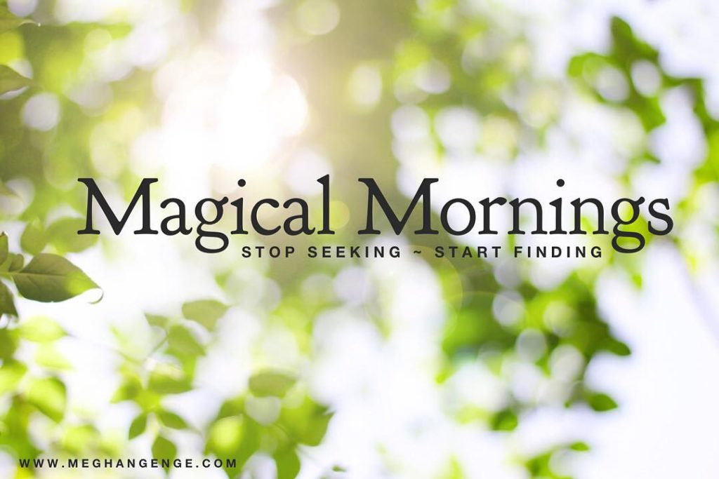Magical Mornings is a 5 week course to help youhellip